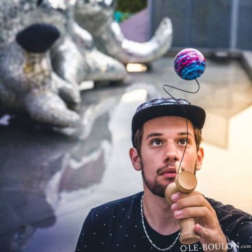 Some Kendama action between the skateboarding pics  Thibaut ishellip